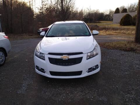 2011 Chevrolet Cruze for sale at Seneca Motors, Inc. (Seneca PA) - SHIPPENVILLE, PA LOCATION in Shippenville PA