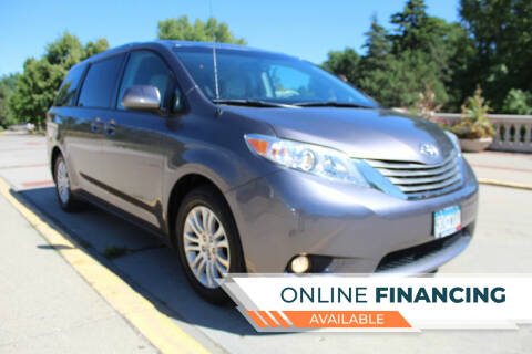 2011 Toyota Sienna for sale at K & L Auto Sales in Saint Paul MN