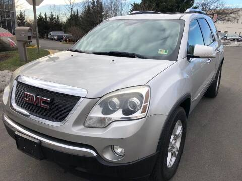 2008 GMC Acadia for sale at Dreams Auto Group LLC in Sterling VA