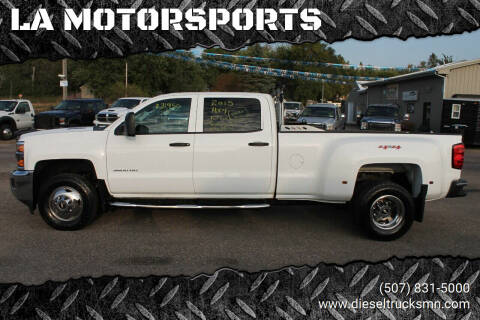 2015 Chevrolet Silverado 3500HD for sale at LA MOTORSPORTS in Windom MN
