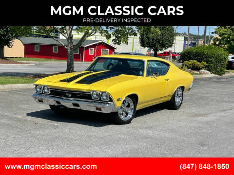 1968 Chevrolet Chevelle for sale at MGM CLASSIC CARS-New Arrivals in Addison IL