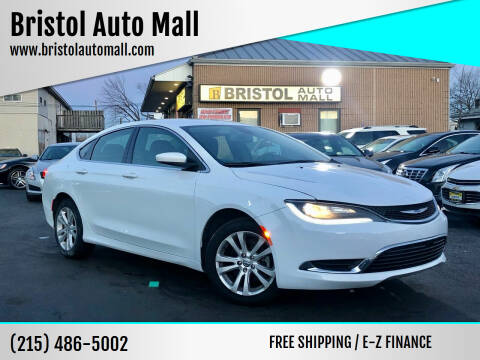2016 Chrysler 200 for sale at Bristol Auto Mall in Levittown PA