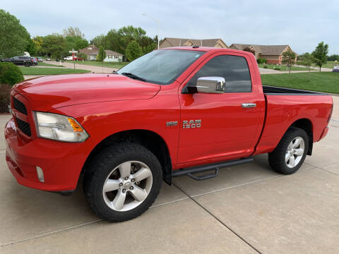 2013 RAM Ram Pickup 1500 for sale at S & S Sports and Imports in Newton KS
