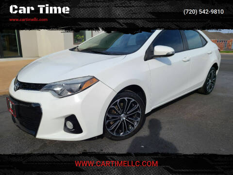 2015 Toyota Corolla for sale at Car Time in Denver CO