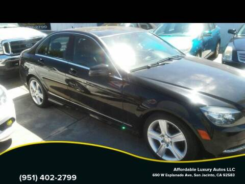 2009 Mercedes-Benz C-Class for sale at Affordable Luxury Autos LLC in San Jacinto CA