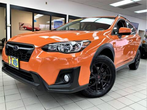 2018 Subaru Crosstrek for sale at SAINT CHARLES MOTORCARS in Saint Charles IL