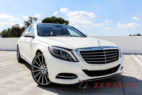 2016 Mercedes-Benz S-Class for sale at Zen Auto Sales in Sacramento CA