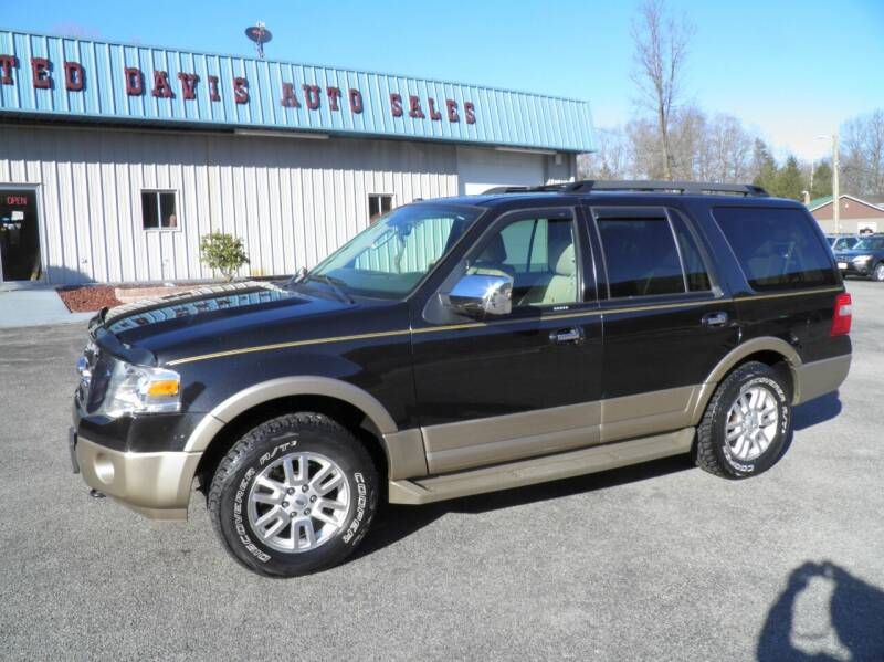 2013 Ford Expedition for sale at Ted Davis Auto Sales in Riverton WV