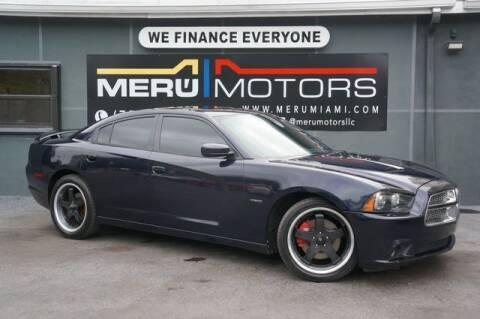 2011 Dodge Charger for sale at Meru Motors in Hollywood FL