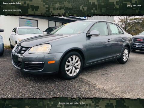 2010 Volkswagen Jetta for sale at Carpro Auto Sales in Chesapeake VA
