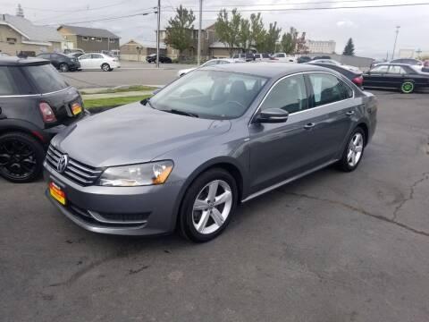 2014 Volkswagen Passat for sale at Cool Cars LLC in Spokane WA