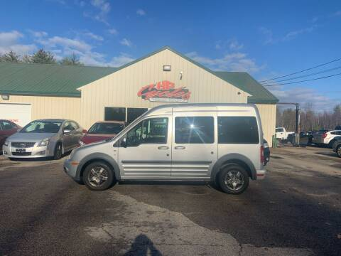 2012 Ford Transit Connect for sale at HP AUTO SALES in Berwick ME