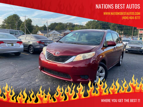 2011 Toyota Sienna for sale at Nations Best Autos in Decatur GA
