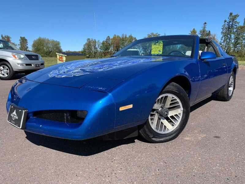 1991 Pontiac Firebird for sale at LUXURY IMPORTS in Hermantown MN