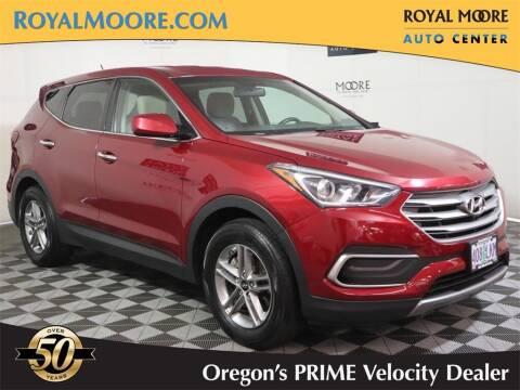 2018 Hyundai Santa Fe Sport for sale at Royal Moore Custom Finance in Hillsboro OR