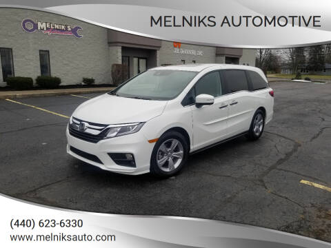 2020 Honda Odyssey for sale at Melniks Automotive in Berea OH