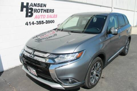 2016 Mitsubishi Outlander for sale at HANSEN BROTHERS AUTO SALES in Milwaukee WI