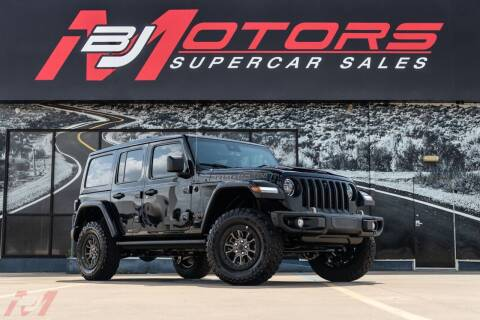 2021 Jeep Wrangler Unlimited for sale at BJ Motors in Tomball TX