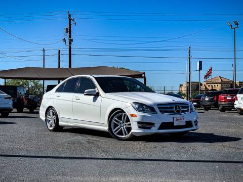 2013 Mercedes-Benz C-Class for sale at Jerrys Auto Sales in San Benito TX