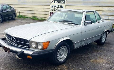 1983 Mercedes-Benz 380-Class for sale at Jackson Motors Used Cars in San Antonio TX