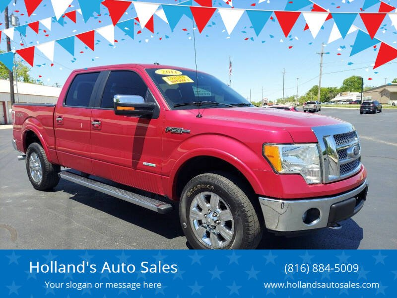 2011 Ford F-150 for sale at Holland's Auto Sales in Harrisonville MO