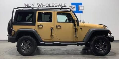 2014 Jeep Wrangler Unlimited for sale at Indy Wholesale Direct in Carmel IN