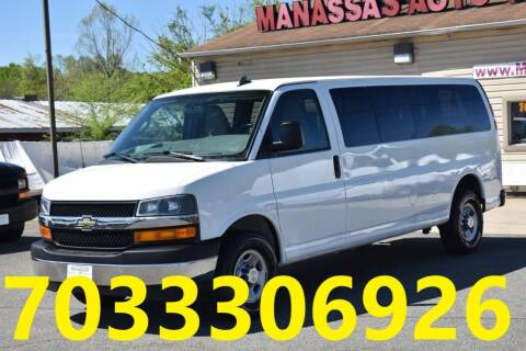 2017 Chevrolet Express Passenger for sale at MANASSAS AUTO TRUCK in Manassas VA