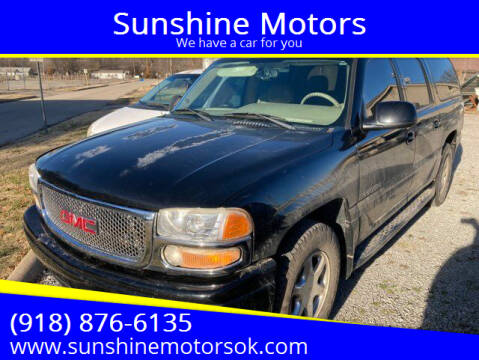 2005 GMC Yukon XL for sale at Sunshine Motors in Bartlesville OK