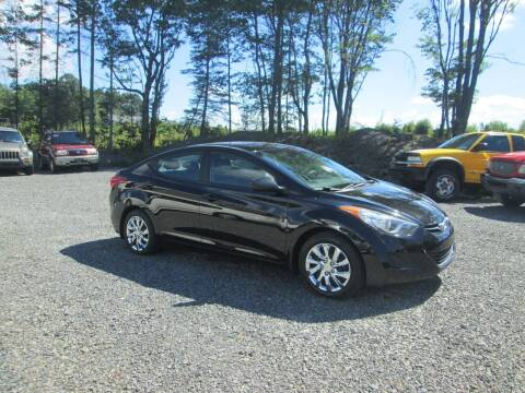 2013 Hyundai Elantra for sale at Small Town Auto Sales in Hazleton PA