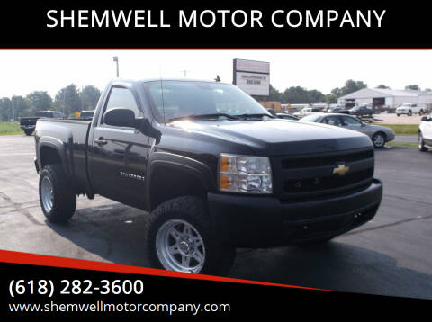 2008 Chevrolet Silverado 1500 for sale at SHEMWELL MOTOR COMPANY in Red Bud IL