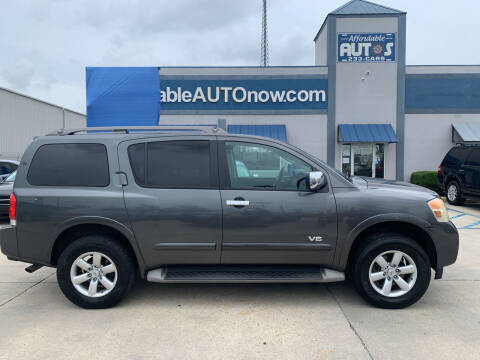2009 Nissan Armada for sale at Affordable Autos in Houma LA