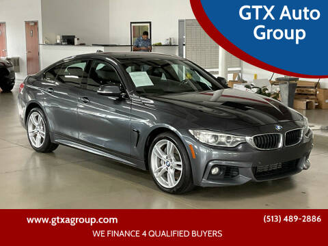 2016 BMW 4 Series for sale at GTX Auto Group in West Chester OH