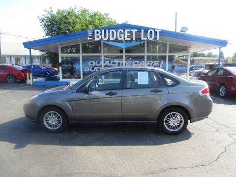 2010 Ford Focus for sale at THE BUDGET LOT in Detroit MI