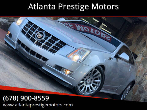 2013 Cadillac CTS for sale at Atlanta Prestige Motors in Decatur GA