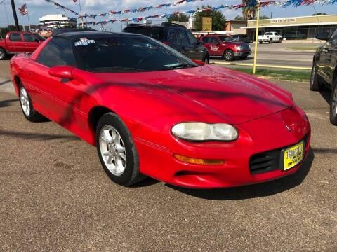 2002 Chevrolet Camaro for sale at Rock Motors LLC in Victoria TX