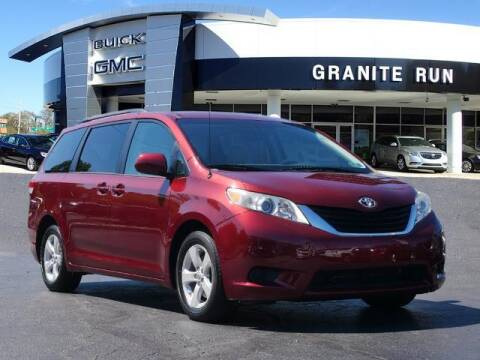 2011 Toyota Sienna for sale at GRANITE RUN PRE OWNED CAR AND TRUCK OUTLET in Media PA