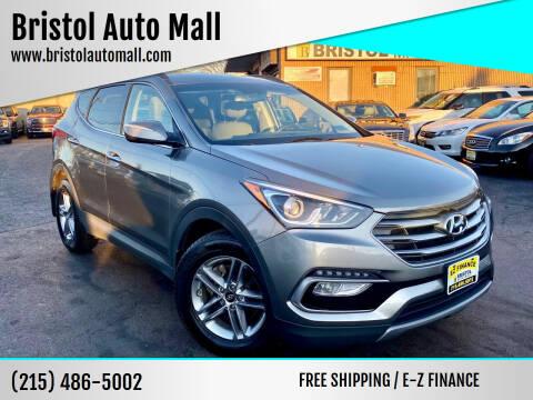 2017 Hyundai Santa Fe Sport for sale at Bristol Auto Mall in Levittown PA
