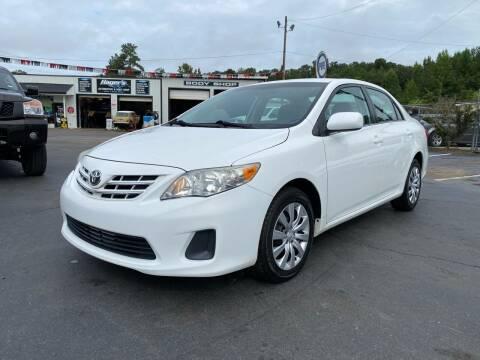 2013 Toyota Corolla for sale at US 1 Auto Sales in Graniteville SC
