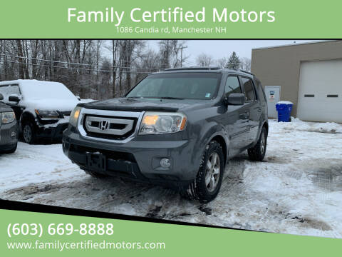2011 Honda Pilot for sale at Family Certified Motors in Manchester NH
