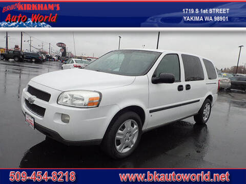 2008 Chevrolet Uplander for sale at Bruce Kirkham Auto World in Yakima WA