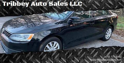 2011 Volkswagen Jetta for sale at Tribbey Auto Sales in Stockbridge GA