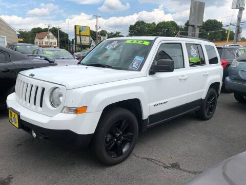 2015 Jeep Patriot for sale at Crown Auto Sales in Abington MA