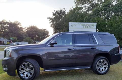 2015 GMC Yukon for sale at SIGNATURES AUTOMOTIVE GROUP LLC in Spartanburg SC