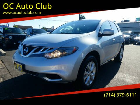 2014 Nissan Murano for sale at OC Auto Club in Midway City CA