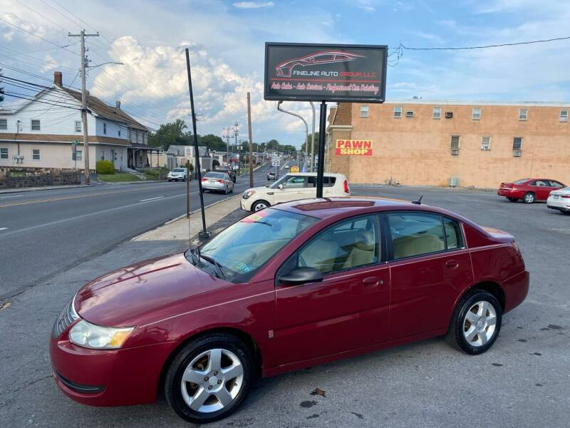 2006 Saturn Ion for sale at Fineline Auto Group LLC in Harrisburg PA