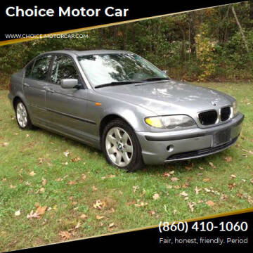 2005 BMW 3 Series for sale at Choice Motor Car in Plainville CT