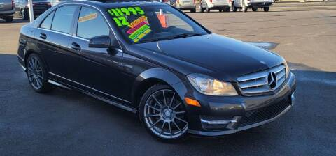 2012 Mercedes-Benz C-Class for sale at Henry's Autosales, LLC in Reno NV