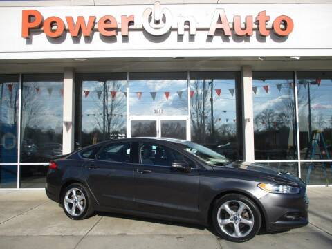 2016 Ford Fusion for sale at Power On Auto LLC in Monroe NC