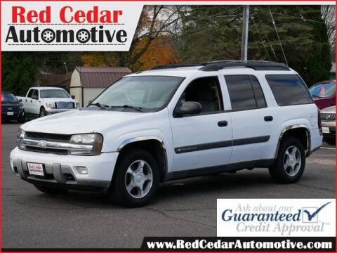 2004 Chevrolet TrailBlazer EXT for sale at Red Cedar Automotive in Menomonie WI
