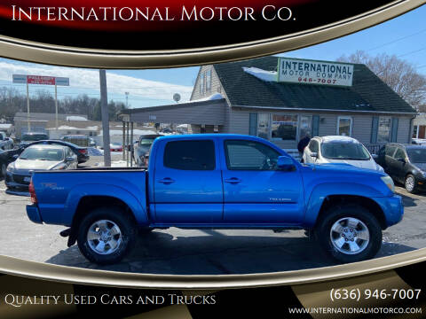 2005 Toyota Tacoma for sale at International Motor Co. in St. Charles MO